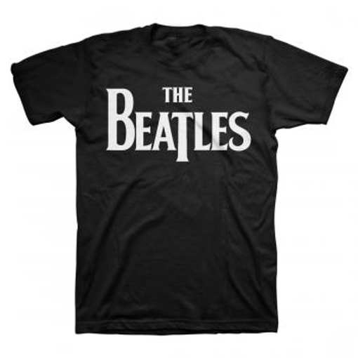 Picture of Beatles Adult T-Shirt:; Classic Drop-T Black