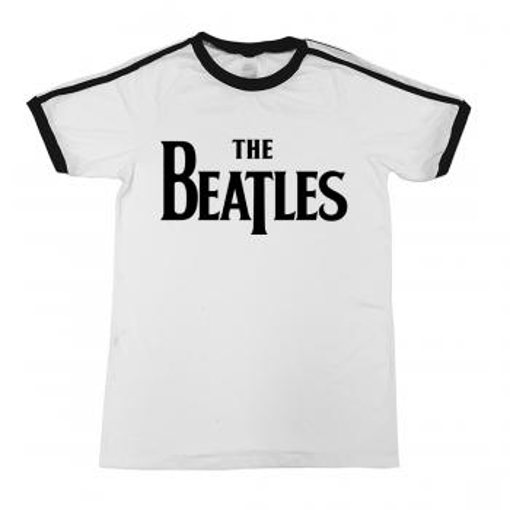 Picture of Beatles Adult T-Shirt: Football Meets The Beatles