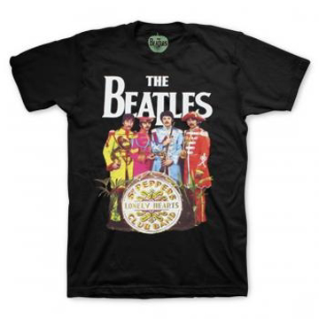 Picture of Beatles Adult T-Shirt: Classic Sgt Pepper Cover