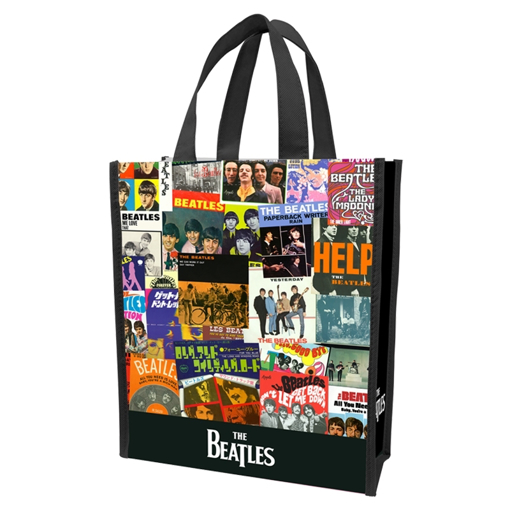 Picture of Beatles BAG: Collage Small Recycled Shopper Tote
