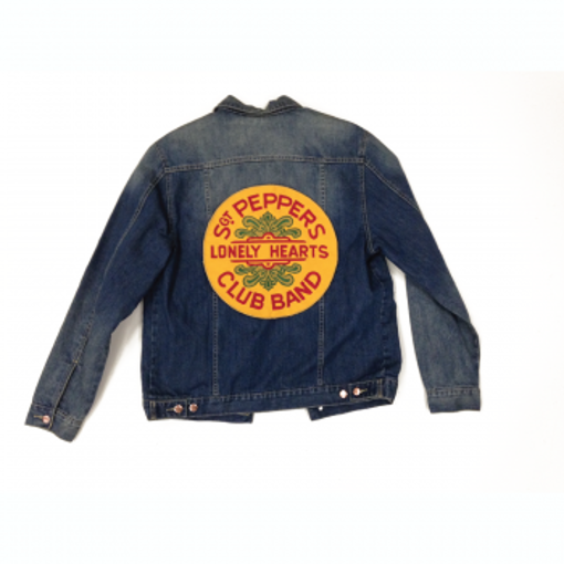 Picture of Beatles Jacket: Denim-Jeans Sgt Pepper Seal