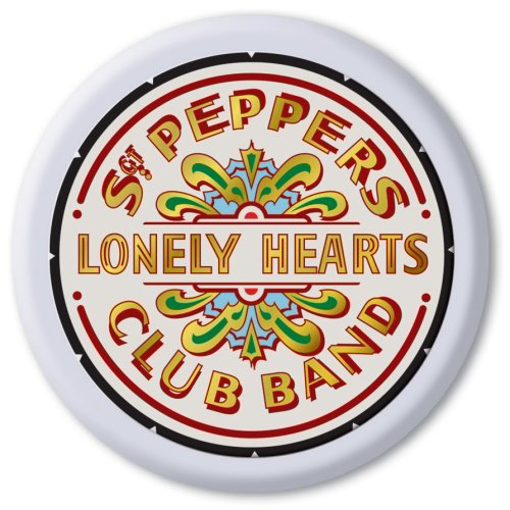 Picture of Beatles Tray:  NEW! Sgt. Pepper's Round Tray