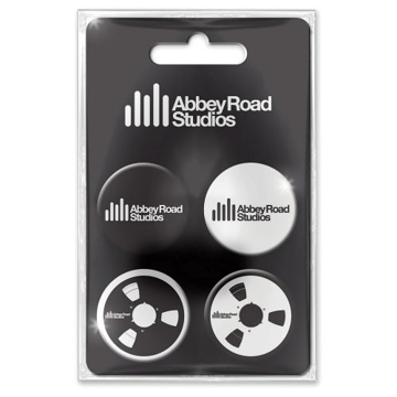 Picture of Beatles Buttons: The Beatles Abbey Road Badge Pack