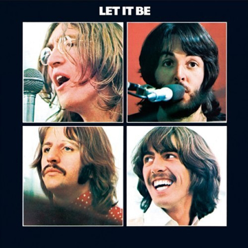 "Picture of Beatles Sign:  ""Let It Be"" Album Cover"