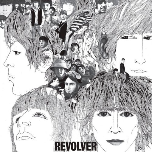 "Picture of Beatles Sign:  ""Revolver"" Album Cover"