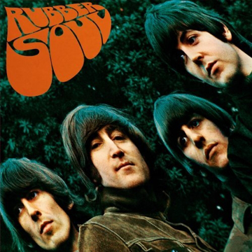 "Picture of Beatles Sign:  ""Rubber Soul"" Album Cover"