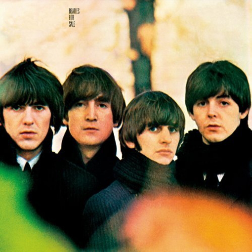 """Picture of Beatles Sign:  """"Beatles For Sale"""" Album Cover"""