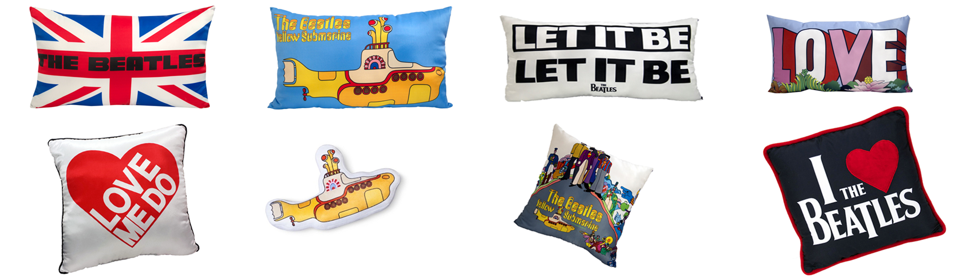 Beatles Pillows
