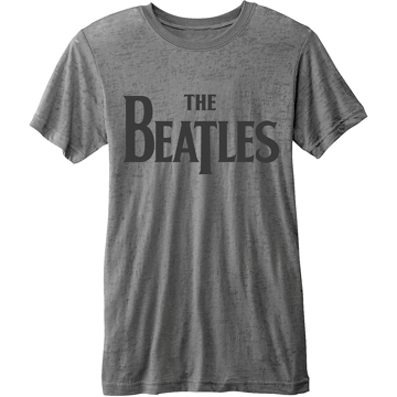 Picture of Beatles Adult T-Shirt: Burnout Drop T