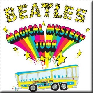 Picture of Beatles Magnets: The Beatles Many Styles MAG-Magical Mystery Tour