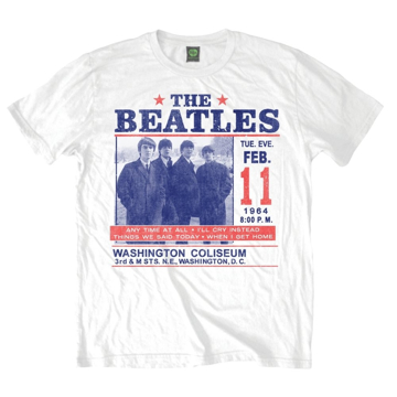 Picture of Beatles Adult T-Shirt: DC - WC Washington Coliseum
