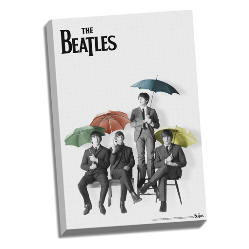 """Picture of Beatles ART: 24""""  X  36""""  Umbrellas"""