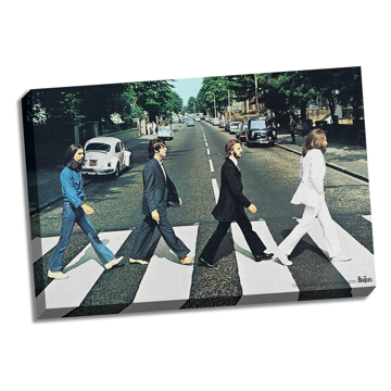 "Picture of Beatles ART: 36""  X 24""  The Beatles Abbey Road Canvas"