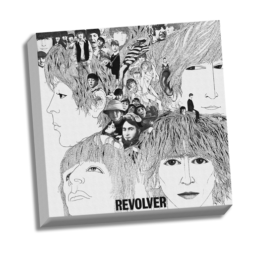 "Picture of Beatles ART: 20""  X 20""  The Beatles Revolver Canvas"