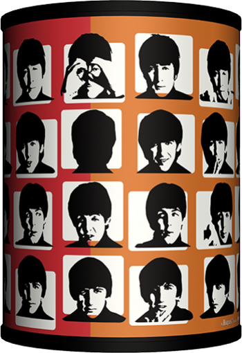 Picture of Beatles Lamp  & Shades: A Hard Day's Night Multi-Color