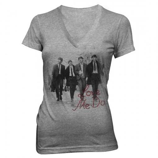 Picture of Beatles Jr's T-Shirt: Love Me Do Rhinestones