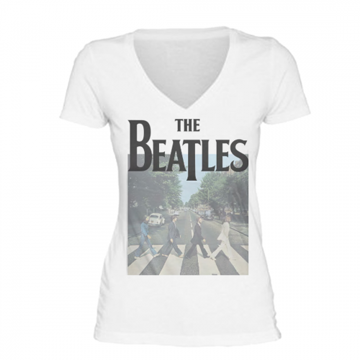 Picture of Beatles Jr's T-Shirt: Abbey Road V neck
