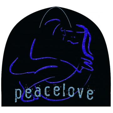 Picture of John Lennon Beanie: Peace Love