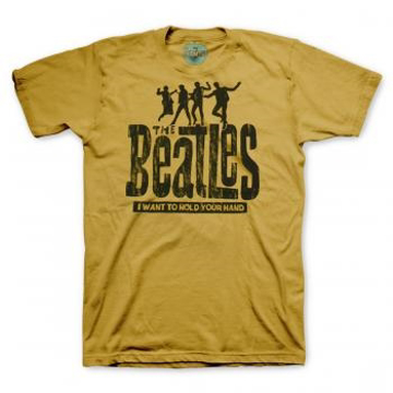 Picture of Beatles Adult T-Shirt: Hold Your Hand  - Tri-Blend Shirt