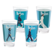 "Picture of Beatles Drinkware: """"Abbey Road"" 4 pc. Glass Set"