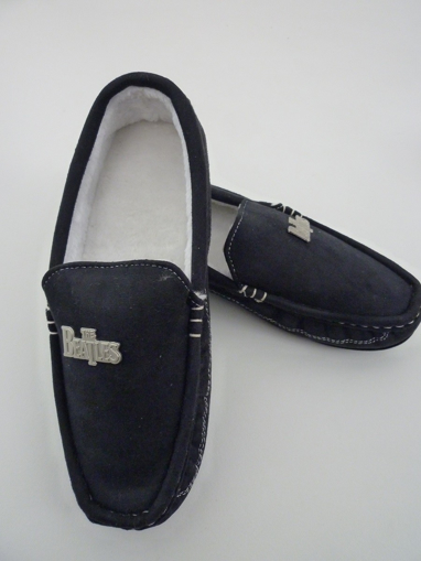 Picture of Beatles Footwear: The Beatles Stitch Moccasin Men's Slippers