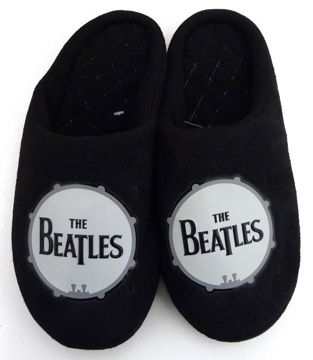 Picture of Beatles Footwear: The Beatles Drum Logo Boy's Slippers
