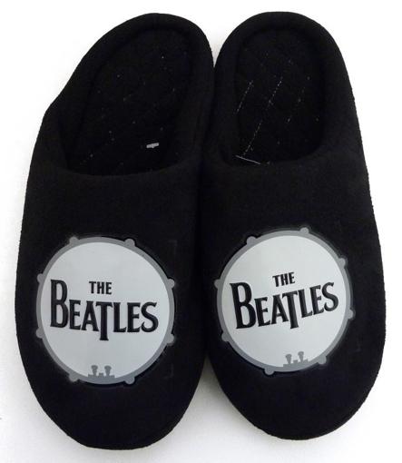 Picture of Beatles Footwear: The Beatles Drum Logo Boy's Slippers