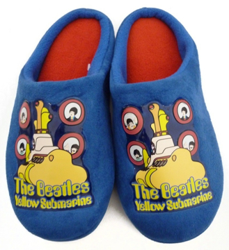 Picture of Beatles Footwear: The Beatles Yellow Submarine Boy's Slippers