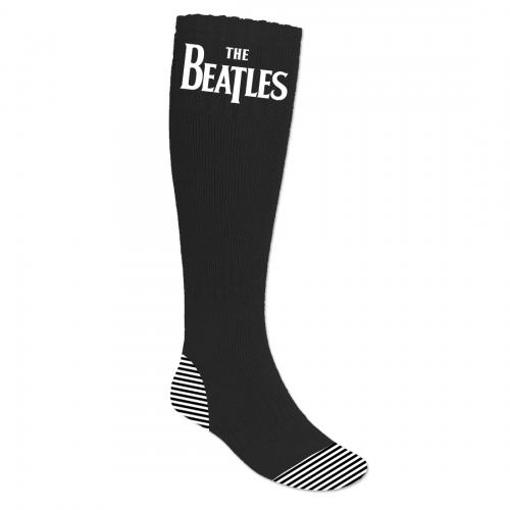 Picture of Beatles Socks: The Beatles Socks Drop T Logo
