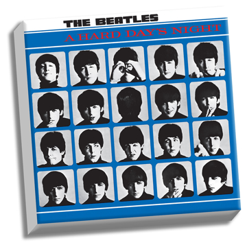 "Picture of Beatles ART: The Beatles A Hard Day's Night 20"" x 20"" Stretched Canvas"