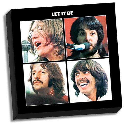 "Picture of Beatles ART: The Beatles Let It Be 20"" x 20"" Stretched Canvas"
