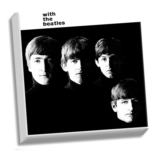 "Picture of Beatles ART: The Beatles With The Beatles 20"" x 20"" Stretched Canvas"
