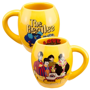 "Picture of Beatles Mug: ""Yellow Submarine"" 18 oz. Ceramic Oval Mug"