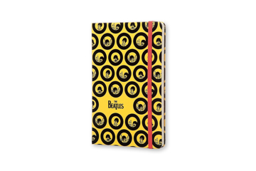 Picture of Beatles Notebook: The Beatles Yellow Submarine Ruled Notebook Sea Of Holes (Molekine)