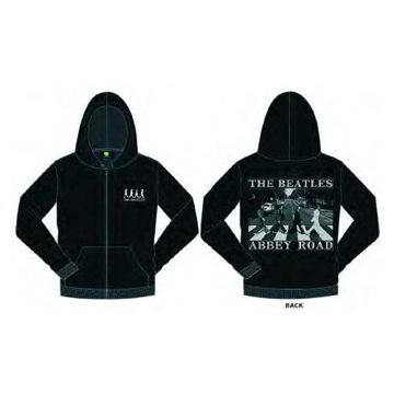 Picture of Beatles Hoodie:  Abbey Road Black & White