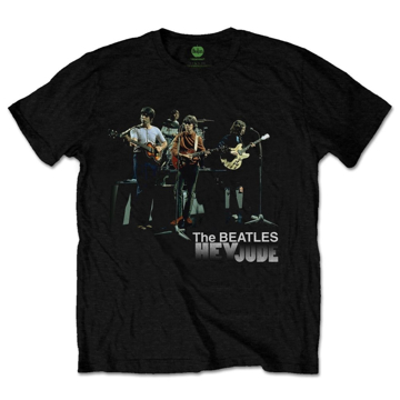 Picture of Beatles Adult T-Shirt: Hey Jude Studio Shot