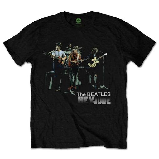 Picture of Beatles Adult T-Shirt: Hey Jude Studio Shot