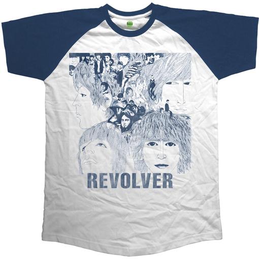 Picture of Beatles Adult T-Shirt: Beatles Revolver Raglan