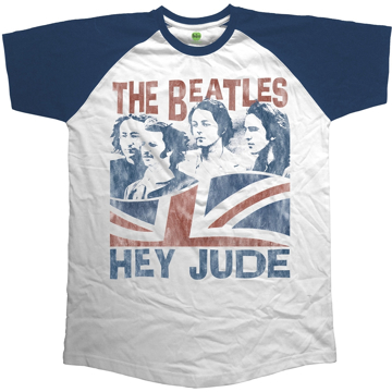 Picture of Beatles Adult T-Shirt: Beatles Hey Jude Raglan