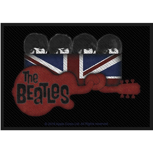 Picture of Beatles Patches: Guitar & Union Jack Patch