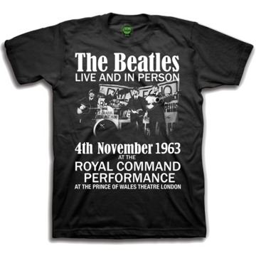 Picture of Beatles Youth T-Shirt: Prince of Wales Theatre Command Performance