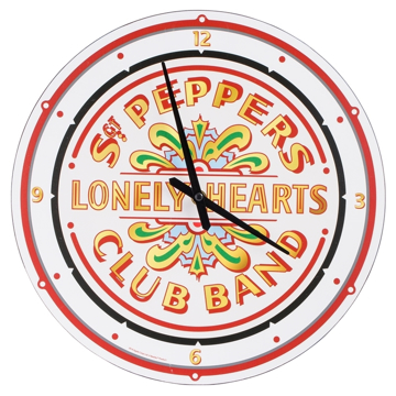 "Picture of Beatles Clock: The Beatles Sgt Pepper's 13.5"" Wall Clock"