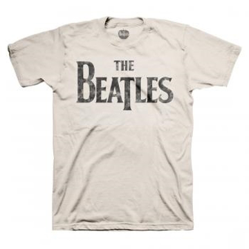 Picture of Beatles Adult T-Shirt:; Classic Drop-T Distressed