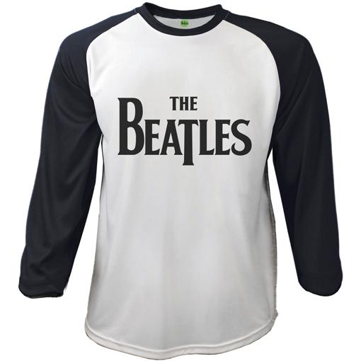 Picture of Beatles Adult T-Shirt: Drop T Raglan Baseball Shirt