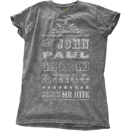 Picture of Beatles Jr's T-Shirt: Mr Kite Snow Wash