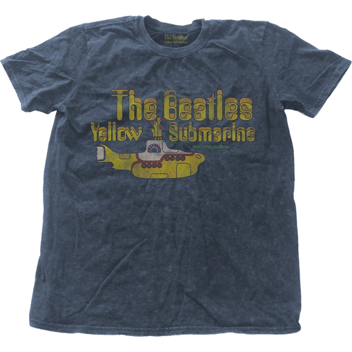 Picture of Beatles Adult T-Shirt: Yellow Submarine Snow Wash Tee