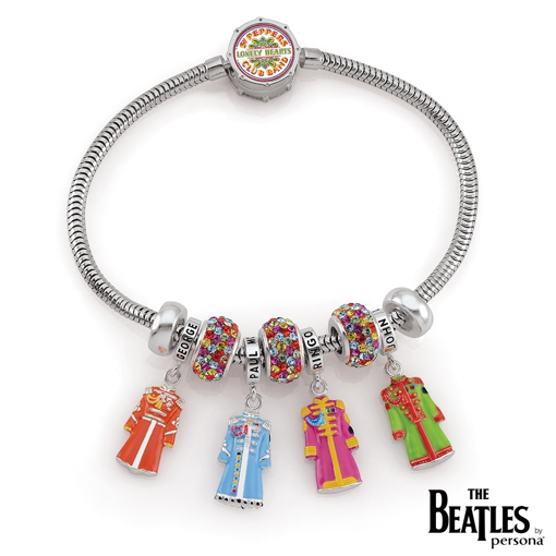 Picture of Beatles Jewelry: Sgt. Pepper Limited Edition Bracelet with Charms
