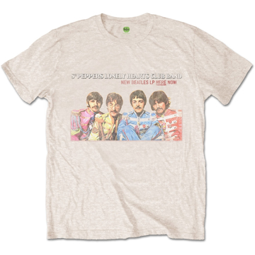 Picture of Beatles Adult T-Shirt: Sgt Peppers 1967 LP Promo