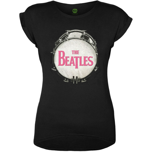 Picture of Beatles Jr's T-Shirt: Drum Skin Logo Pink
