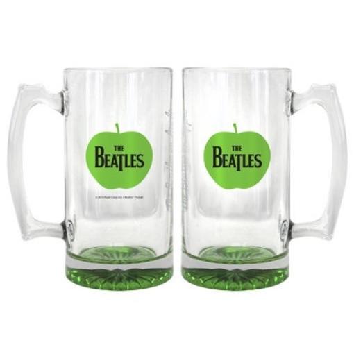 Picture of Beatles Glass: 25 oz Apple Root Beer Mug